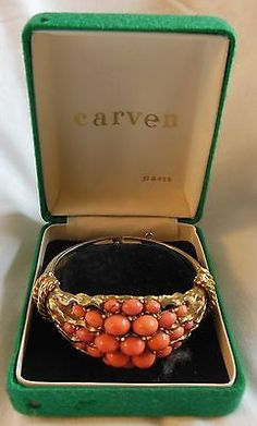 CARVEN-bracelet-rare-signed-and-numbered-YEAR-1960-vintage