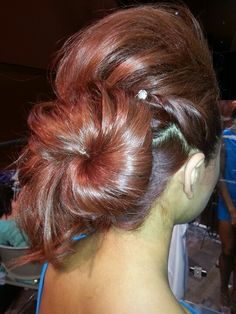 Hair by Aquage platform artist Heaven Padgett