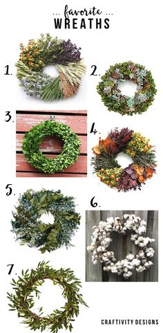 7 Favorite Wreaths from Amazon and Etsy, Fall Wreaths, Summer Wreaths by…