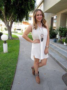 the daily dani: LWD ~ Little White Dress
