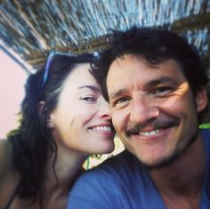 """Pin for Later: Mind-Blowing Pictures of the Game of Thrones Cast Hanging Out in Real Life  Pedro Pascal: """"She make me smile goofy @iamlenaheadey"""""""