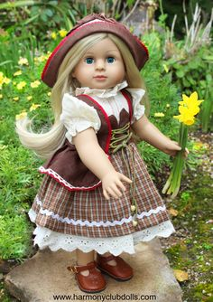 Shop dolls and fits American Girl Doll Clothes at Harmony Club Dolls www.harmonyclubdolls.com
