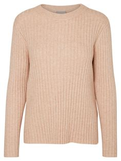 Knit from VERO MODA. Style with light blue denim jeans to keep the pastel look.