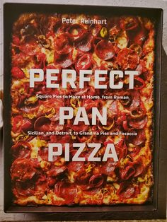 Perfect Pan Pizza: Square Pies to Make at Home, from Roman, Sicilian, and Detroit, to Grandma Pies and Focaccia [A Cookbook] by Peter Reinhart - Ten Speed Press Grandma's Pizza, Focaccia Pizza, Pizza Dough, Knead Pizza, Pizza Pastry, Pizza Food, Pastry Chef, Prosciutto Pizza, Arugula Pizza