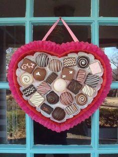 """DIY """"Box of Chocolat..."""