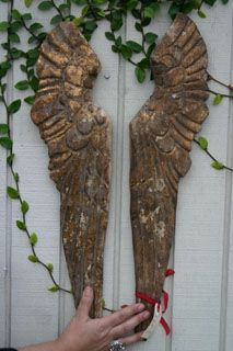Angel Wings ---- LOVE Angels wings of all shapes, sizes and materials!