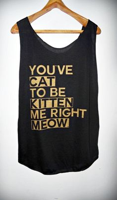 Cat Meow Shirt -