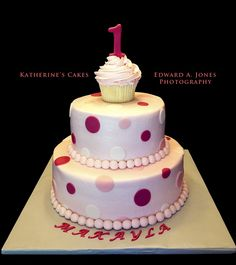 1 year old birthday cake girl ideas - Google Search