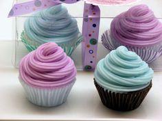 Cupcake soaps!