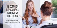 No matter if you have an interview on the horizon, or are just at the beginning of your job searching journey getting familiar with behavioral interview questions is essential. Behavioral Interview Questions, Career Advice, Job Search, Thing 1 Thing 2, Searching, Insight, Journey, Career Counseling, Search