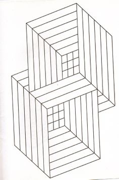 optical illusion coloring page