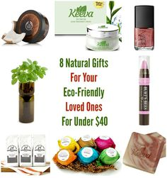 8 Natural Gifts For Your Eco-Friendly Loved Ones For Under $40