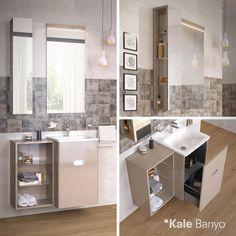 Ufak bir banyonuz varsa Little Big serisi tam da size göre olabilir! Dar alanlara özel tasarlanmış geniş depolama alanına sahip lavabo dolabı ve aynalı üst modülü ile banyonuz için akılcı çözümler sunuyor...#Kale #banyo #LittleBig #tasarım #bathroom #bathroomidea #dekorasyon #dekorasyonönerileri #decorationidea #banyodekorasyon #banyodekorasyonfikirleri #bathroomdecor #Iconmini