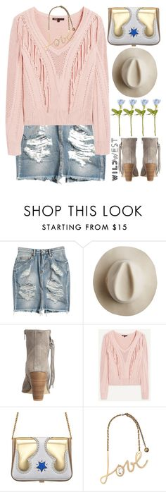 """Wild West Style"" by grozdana-v ❤ liked on Polyvore featuring Sway, Artesano, HOWSTY, The Volon, Lanvin and wildwest"