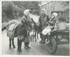 The Penclawdd Cockles of Wales | Wild Eyed Southern Celt Penclawdd cocklewomen 1962