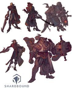 Shardbound - Pirate Cannoneer on Behance