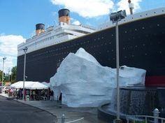 Branson, Mo. Titanic museum.