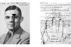 Life of Alan Turing (The Body is a Machine Alan Turing age 2008 Eva Hesse, Alan Turing, Creative Inspiration, Olsen, Image, Collage, Art, Life, Illustrations