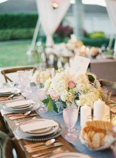 Venue, Bayberry Farm; Flowers, Tom Mathieu & Company; Planner, Sheila Camp Motley; Photo: Jessica Lorren Photography - Florida Wedding http://caratsandcake.com/CarolynandGrant