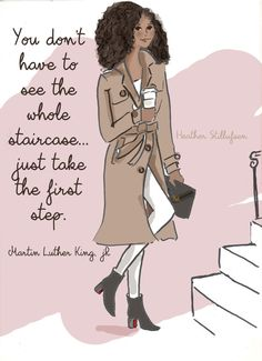 MLK Quotes Art for Women Quotes for by RoseHillDesignStudio
