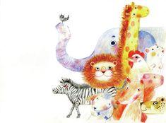 [동화 일러스트] 오색빛깔 부드럽고 밝은 색감이 매력적인, Sherry Feng 일러스트 : 네이버 블로그