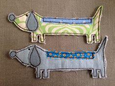 Fabric dogs Vanilla stitch