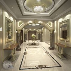 Looking for a trusted interior design company in Dubai? DESiGN DESiGN LLC is here to help! Interior Design Companies, Best Interior Design, Floor Design, Ceiling Design, Entrance Design, Main Entrance, Interior Room Decoration, Modern Villa Design, House Gate Design