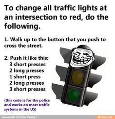 To Change All Traffic Lights At An Intersection To Red, Do The Following