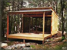 We already got Modern Tiny House on Small Budget and will make you swon. This Collections of Modern Tiny House Design is designed for Maximum impact. Tiny House Kits, Tiny House Blog, Modern Tiny House, Tiny House Cabin, Log Cabin Homes, Tiny House Design, Barn Homes, Small Prefab Cabins, Modern Prefab Homes
