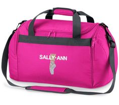 129c809376ed Buy this personalised holdall bag embroidered to order with the BALLET SHOES  Logo and a name