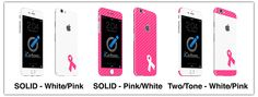 iCarbons - Breast Cancer Awareness Skins - Help us support a great cause!