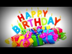 Traditional Happy Birthday Song & #1 Best Birthday Music Ever - YouTube