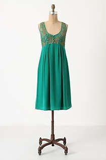 Anthropologie Flickering Slip Dress Just bought this color, can't wait for summer to pair with my birks.