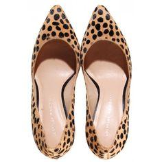 Cheetah Pari Pump ($350) ❤ liked on Polyvore featuring shoes, pumps, heels, zapatos, calf hair pumps, heels & pumps, pony hair shoes, cheetah print shoes y cheetah print pumps