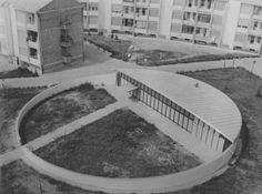 Giuseppe Vaccaro, Asilo a Piacenza,1953-1962.