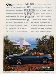 1994 Mazda MX-5 Miata ad