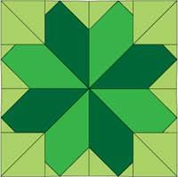 Free Ireland block of the month pattern series from McCall's Quilting