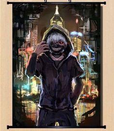 Hot Japan Anime Cosplay Tokyo Ghoul Ken Home Decor Wall Scroll 2130Cm 011