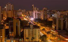 Early in the morning in Goiânia, Brazil