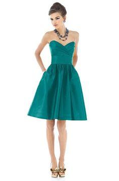 Alfred Sung D542 Bridesmaid Dress | Weddington Way