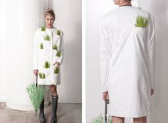 growing grass in your rain jacket...@Angel Ellis, let's do this.....