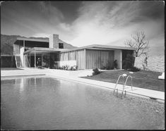 Kaufmann house by Richard Neutra - a slice of Palm Springs magic