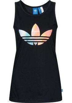 adidas Logo Tank Fading Top black | Titus Onlineshop