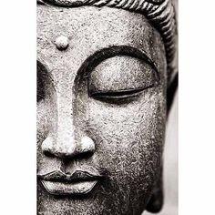 Buddha Face Poster