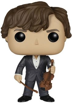 "1st choice ""Sherlock"" Sherlock: Funko Pop! TV Vinyl - Sherlock with Violin at BBC Shop"
