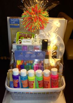 Beginners Essential Gift Basket For Crafters  ☺