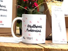 Caneca Mulheres Poderosas - Happy Things