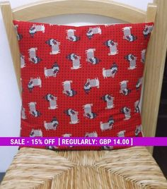 Pug dogs Cushion cover, Pugs on Fabric, Cute Gifts for animal lovers, Christmas gift ideas, Adorable dogs, Hand made Doggie lover present,