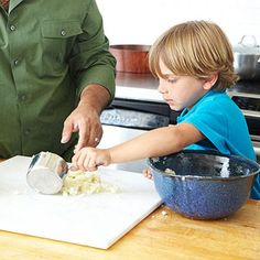 Buddy Valastro may be known TLC's The Cake Boss, but this chef has a savory side too! Here he is in the kitchen cooking up an Italian favorite, Cheese and Potato Gnocchi with a kid-friendly recipe. What's his secret ingredient for this recipe? Lots of little helpers!