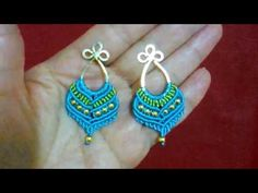#1 PENDIENTES (2da Parte) ✿EARRINGS (2nd part) ✿BRINCOS (2ª parte )✿Boucles d'OREILLES (2ème partie) - YouTube